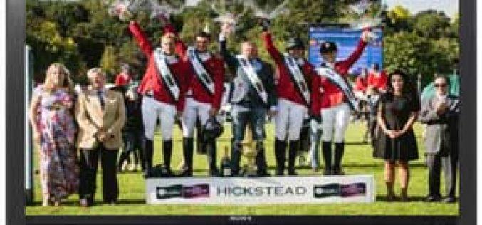 EUROSPORT: Transmissão das Taças das Nações de Hickstead e Dublin