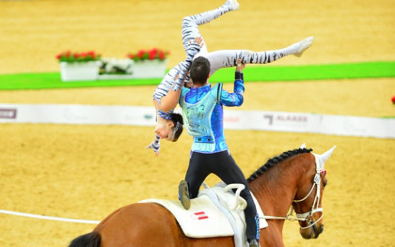Aachen 2015: Close race in the battle for the medals in the ladies vaulting (VIDEO)