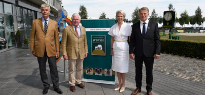 The World Breeding Federation for Sport Horses (WBFSH) and Rolex announce new partnership