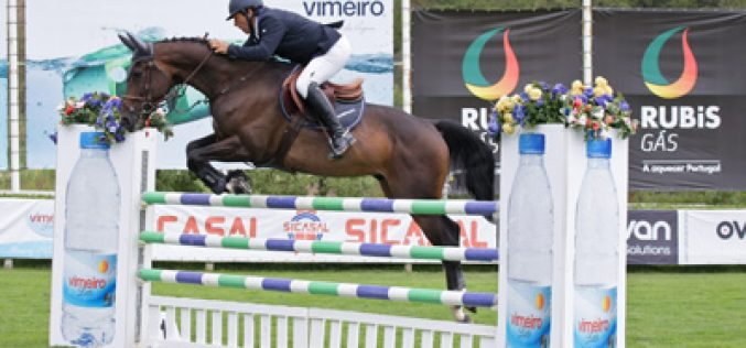 Luís Sabino entra a ganhar no Vimeiro