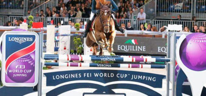 CSI5*-W de Verona: Simon Delestre conquista o Grande Prémio Longines Taça do Mundo (VÍDEO)