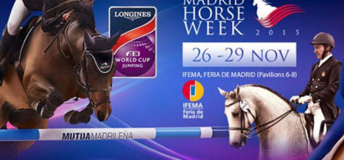Madrid Horse Week: Três cavaleiros portugueses a caminho de Espanha
