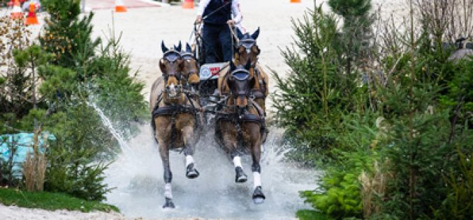 Exell wins FEI World Cup™ Driving in Geneva for the eighth time