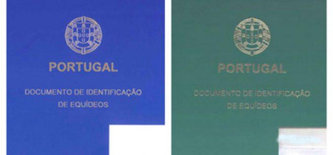 Registo Nacional de Equídeos – Emissão de livros de identificação de cavalos
