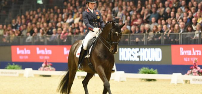 Reem Acra FEI World Cup Olympia: Charlotte Dujardin claims 5th consecutive victory in the Grand Prix