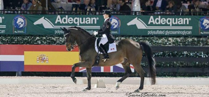 Belinda Trussell Makes claims the FEI Grand Prix Freestyle (VIDEO)