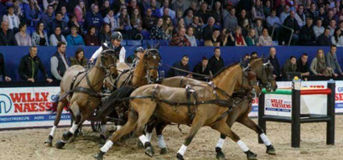 CAI-W Mechelen: Boyd Exell imparável na Taça do Mundo de Atrelagem (VÍDEO)