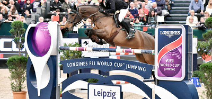 Newcomer Krieg blitzes the opposition to win Longines Leg at Leipzig