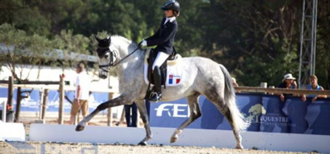 Mado Pinto mantém-se no 1º lugar do Ranking Mundial de Dressage Children