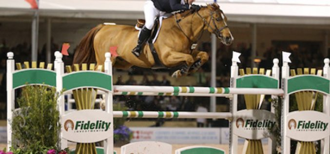McLain Ward & Rothchild Race to Victory in the Grand Prix WEF