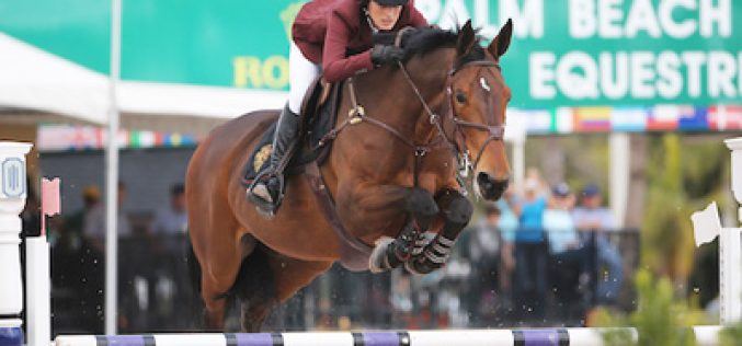 Jessica Springsteen claims the $86,000 Suncast® Championship Jumper Classic