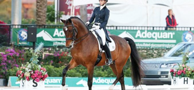 CDI5* Wellington: Laura Graves and Verdades scored 74.667% in the G.P. Special