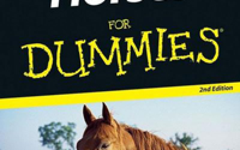 Horses For Dummies available at FNAC