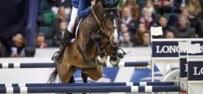 Ahlmann wins second competition, but Guerdat holds lead going into last day of Longines Final
