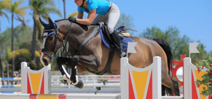 British riders rule young horse competitions during 2016 Spring MET IV Week 1