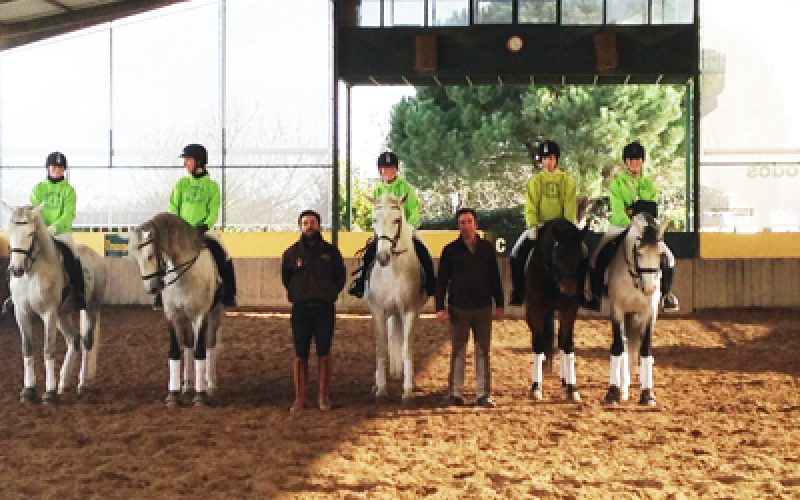 Cardiga Dressage e Paradressage Team inicia temporada desportiva com aumento de Atletas