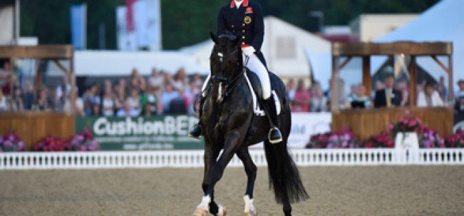 Olympic Dressage hopefuls at Royal Windsor Horse Show