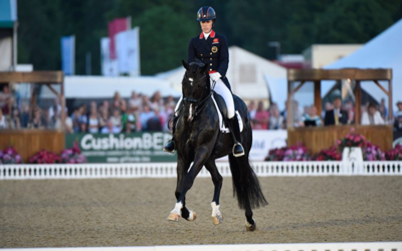 Olympic Dressage hopefuls at Royal Windsor Horse Show