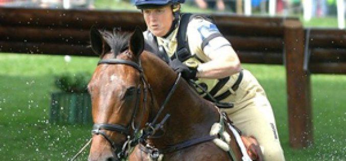 Pippa Funnell sofre queda e retira-se do Badminton Horse Trials