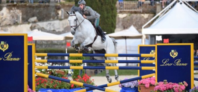 CSIO5* Roma: Emanuele Gaudiano a lucky man