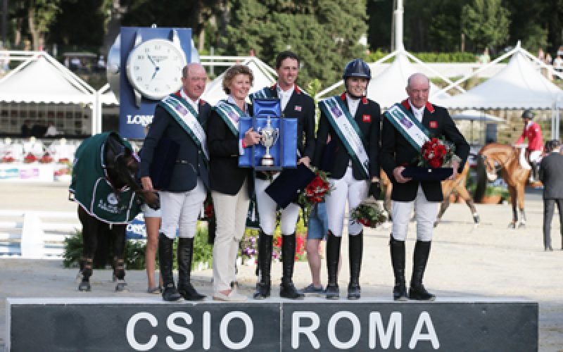 Brilliant British post back-to-back win in Rome