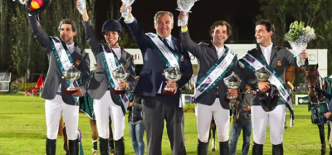 Spanish reign supreme at Furusiyya Leg in Lisboan