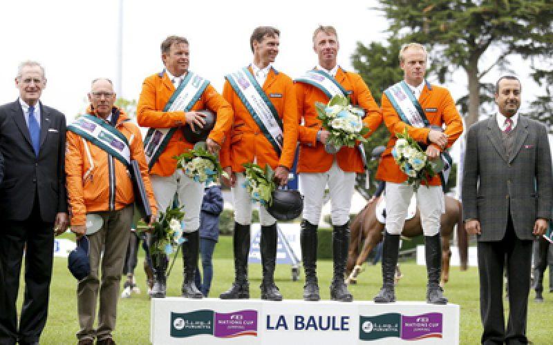 CSIO5* La Baule: Holanda ganha a Taça das Nações em França