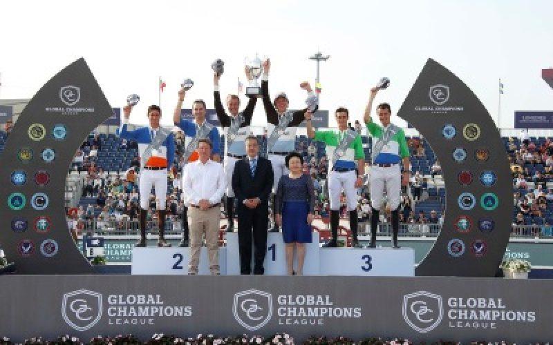 Liga Global Champions Tour: Cascais Charms conquista a quarta etapa em Xangai