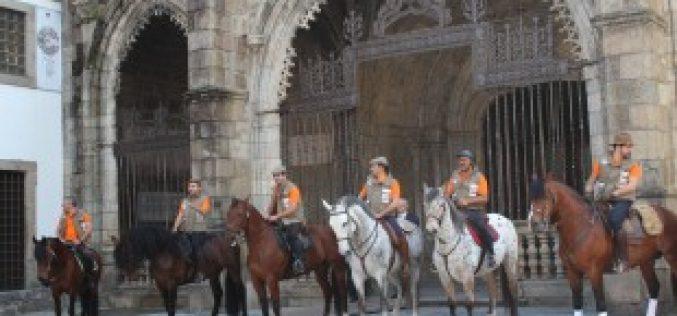 10 Cavaleiros a caminho de Santiago de Compostela