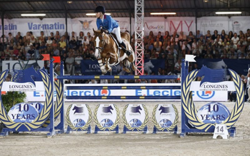 Show jumping's hottest talent in action for LGCT Cannes