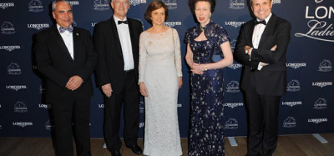 Her Royal Highness The Princess Royal honoured with Longines Ladies Award