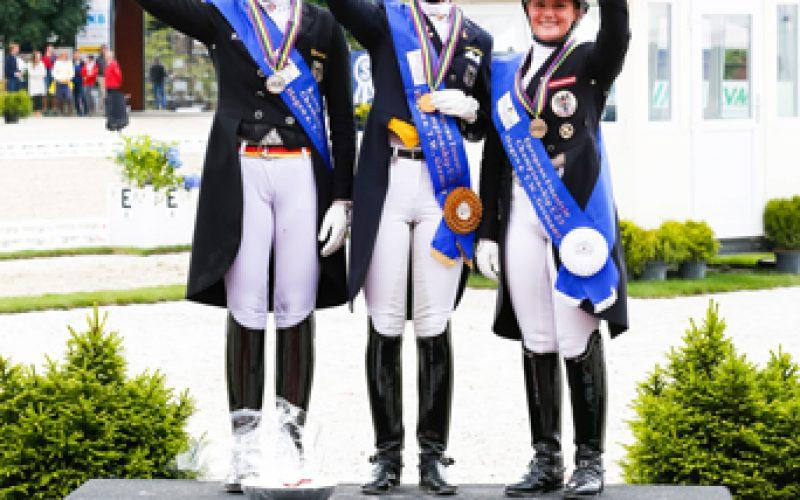 Europeu Dressage Sub-25: Triplo ouro para Sanneke Rothenberger em Hagen