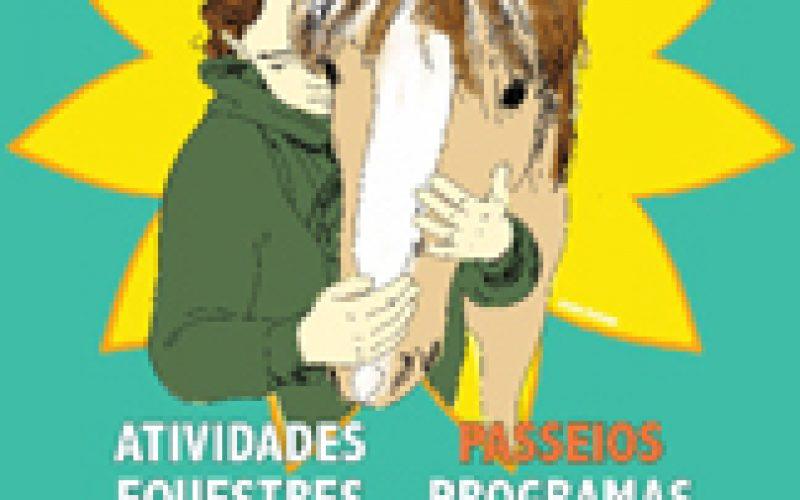 Equitação anima Jardim de Oeiras