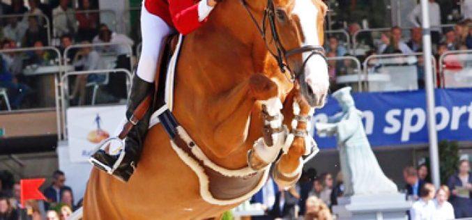 Luciana Diniz wins Longines Grand Prix Port of Rotterdam