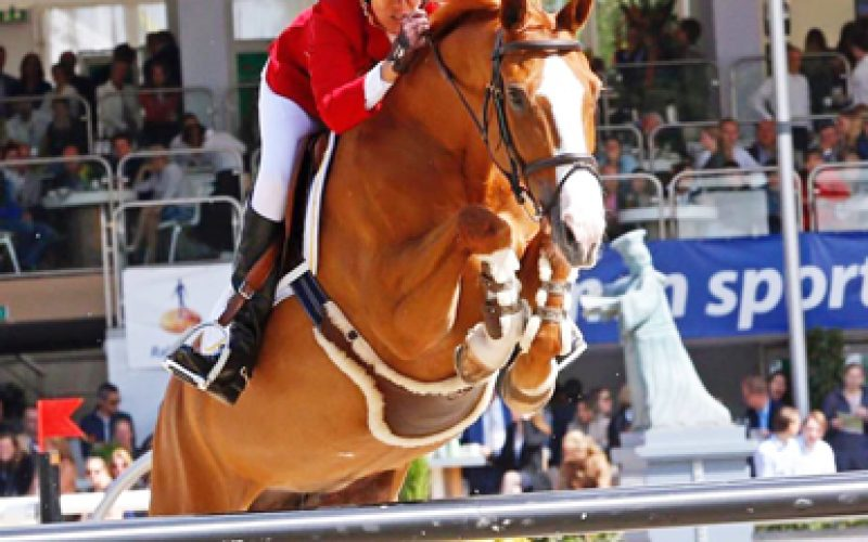 Luciana Diniz wins Longines Grand Prix Port of Rotterdam