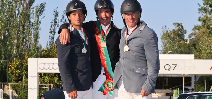 CPCO: Mário Wilson Fernandes é o novo Campeão Nacional de Saltos de Obstáculos