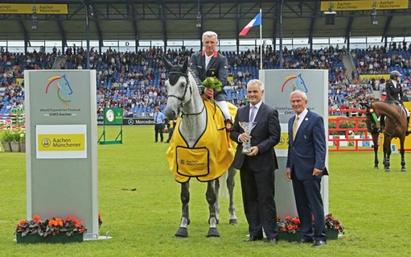 CHIO Aachen: Roger-Yves Bost flies to victory