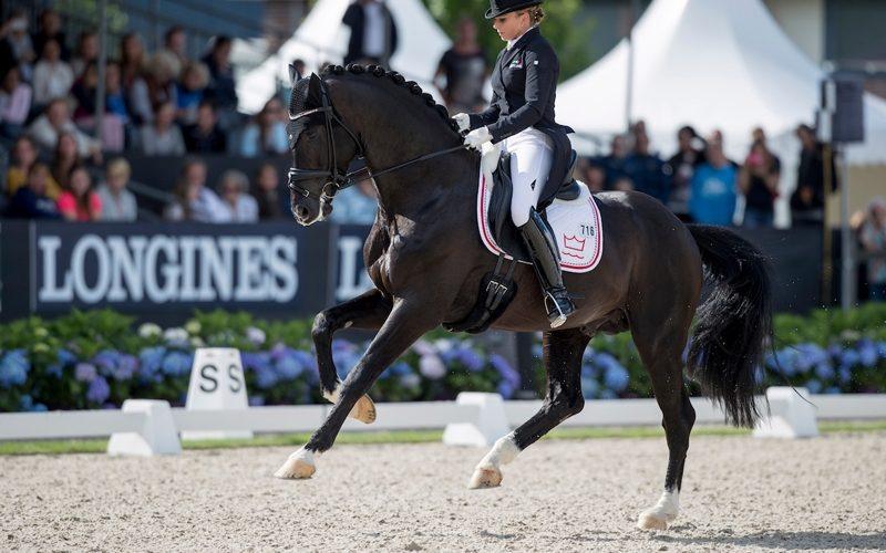 Campeonato do Mundo de Cavalos Novos de Dressage: Victoria's Secret, Sezuan e Fiontini, Campeões do Mundo