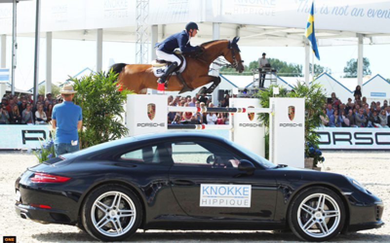"CSI5* Knokke: Daniel Deusser ganha ""Porsche Targa"" no Grande Prémio (VÍDEO)"