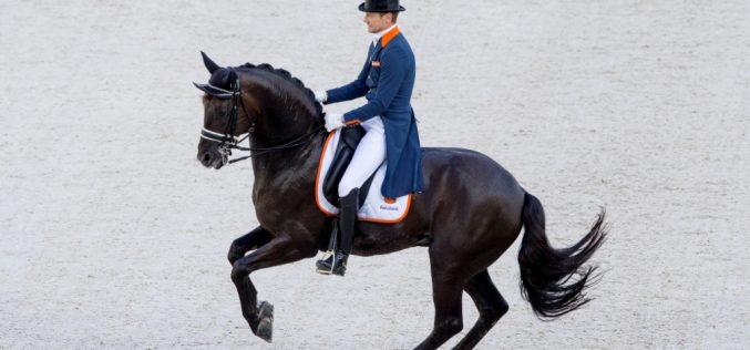 Rio 2016: Equipa da Holanda de Dressage para os J.O.