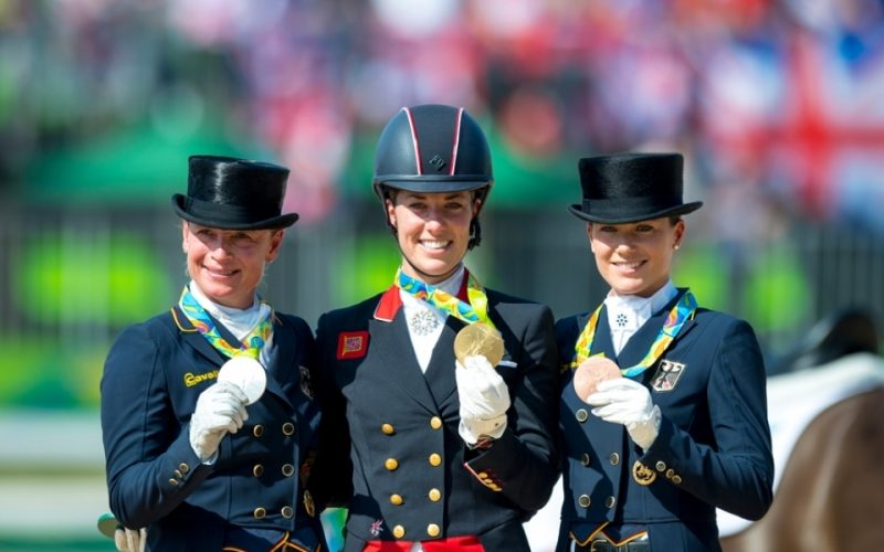Rio 2016: Charlotte Dujardin conquista o segundo título olímpico individual consecutivo