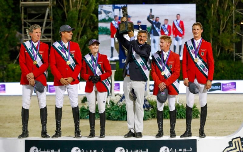 Germany takes 2016 Furusiyya title on a night to remember in Barcelona