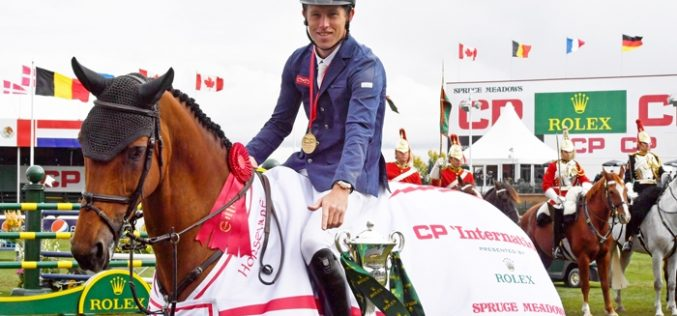 The Rolex Grand Slam of Show Jumping has begun again for Scott Brash