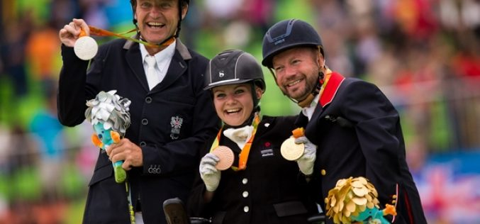 Rio 2016 Paralympics: Dancing horses lead their riders to gold