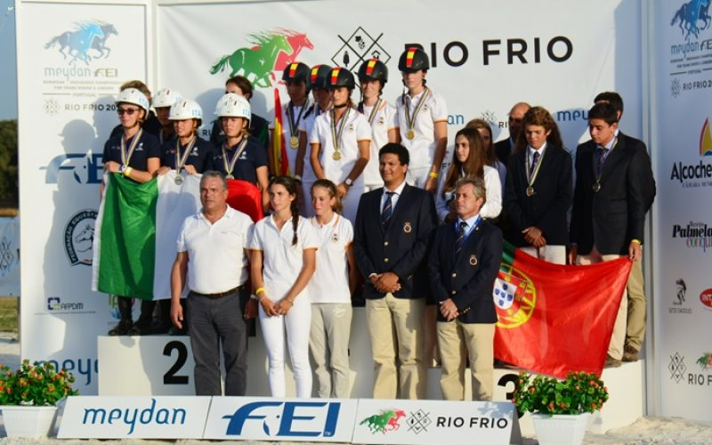 Spanish sweep FEI European Endurance Championship for Young Riders and Juniors in Portugal
