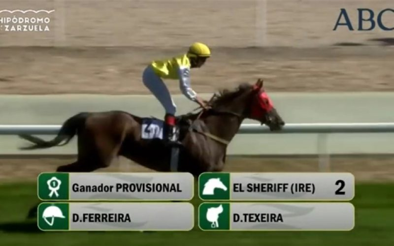 El Sheriff (IRE) vence com Diniz Ferreira em Madrid! (VÍDEO)