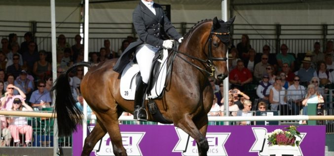 FEI Classics™: Bettina Hoy has designs on Burghley