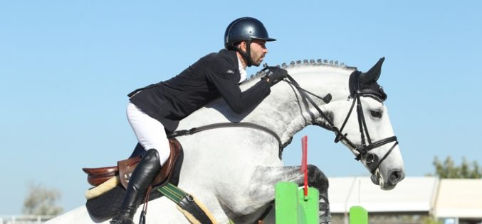 CSI3* Vilamoura: Portugueses no pódio do Champions Tour 2016