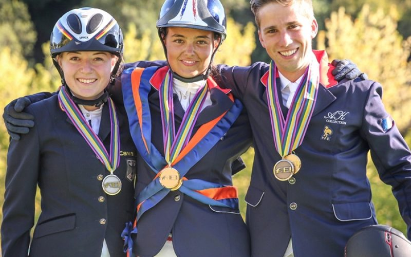 Double-gold for France and Germany at Montelibretti