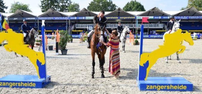 Zangersheide: Patrik Spits entra a ganhar no Campeonato do Mundo de Cavalos Novos